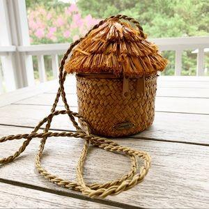 CAPPELLI Straw Tiki Hut Bag